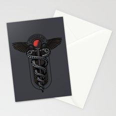 Snakes on a Cane Stationery Cards