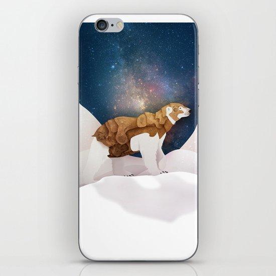 The Armored Bear iPhone & iPod Skin