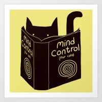 Mind Control (buy this) Art Print