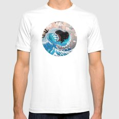 The Unstoppabull Force White Mens Fitted Tee SMALL