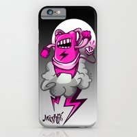 iPhone & iPod Case featuring Strombot - Pink Robot by Mishfit