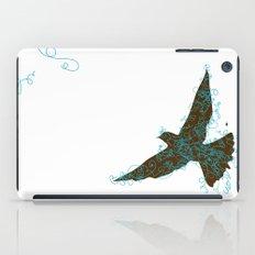Bird Fly No. 2  (Brown/Aqua) iPad Case