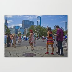 Taste of Chicago Canvas Print