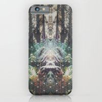 Forest Grid iPhone 6 Slim Case