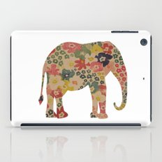 Flower Power Elephant iPad Case