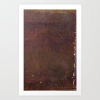 Leather Art Print