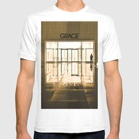 Urban Reflections Mens Fitted Tee White SMALL