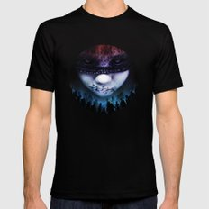 Leave A Scar Mens Fitted Tee Black SMALL