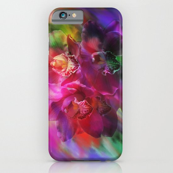 Coronation Orchids iPhone & iPod Case