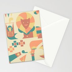 Animals' Circus Stationery Cards