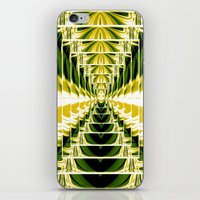 Abstract.Green,Yellow,Bl… iPhone & iPod Skin