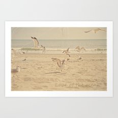 Love of the Ocean Art Print