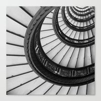 Rookery Stairs Canvas Print