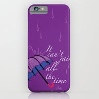 iPhone & iPod Case featuring It can't rain ALL the time by Junkyard Doll