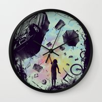 Gravity Play Wall Clock