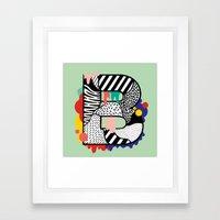 B for ... Framed Art Print
