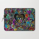 What the heart sees the hands hold  Laptop Sleeve