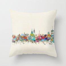 Ottawa Ontario skyline Throw Pillow