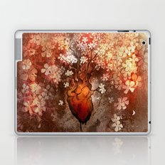 This Bleeding Blossoming Heart Laptop & iPad Skin
