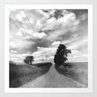 The Road Not Chosen Art Print