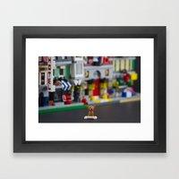 Lilliput Land Framed Art Print
