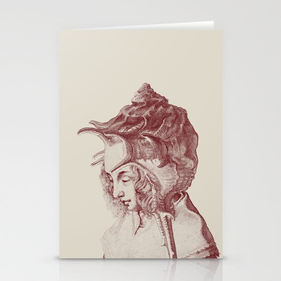 Haute Coiffure  /#7 Stationery Card