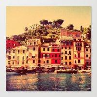 Buongiorno Portofino! Canvas Print