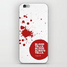 Dexter no.6 iPhone & iPod Skin