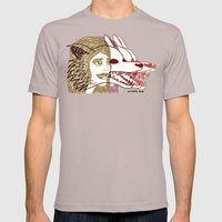 Triple She Wolf Mens Fitted Tee Cinder SMALL