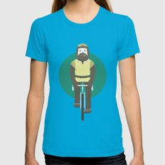 Cyclesquatch Womens Fitted Tee Teal SMALL