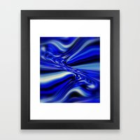 Code Blue Framed Art Print