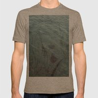Lake Lady // Double Exposed Mens Fitted Tee Tri-Coffee SMALL
