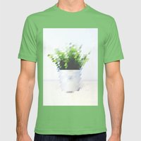 Plant Mens Fitted Tee Grass SMALL
