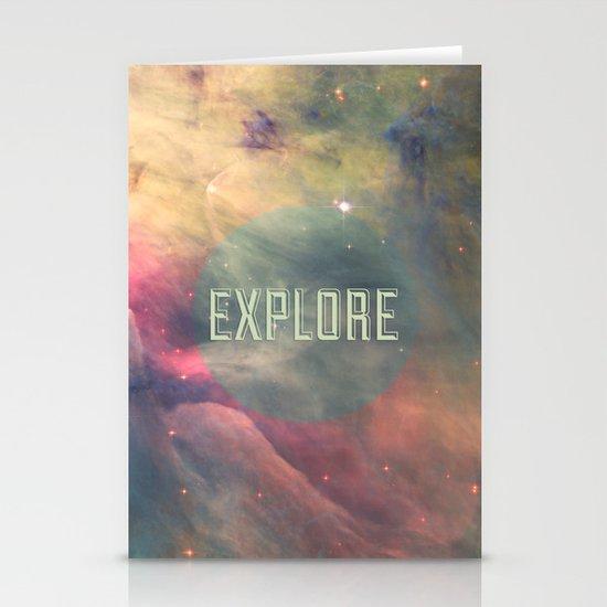 Explore III Stationery Card
