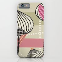 iPhone & iPod Case featuring Black & White Blossom by Ted and Rose Design