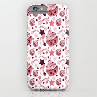 iPhone & iPod Case featuring cupcake by heatherinasuitcase