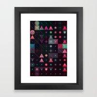 ynvyrt yrchyn Framed Art Print