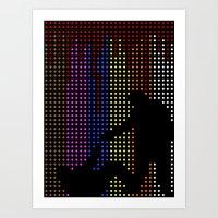 Reservoir Dots Art Print