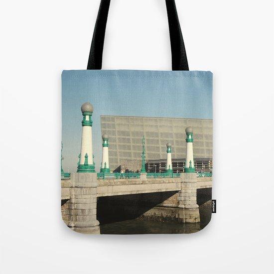 Kursaal Bridge Tote Bag