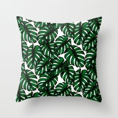 Tropicals Throw Pillow