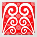 Peppermint Swirl Canvas Print