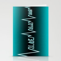 Feel The Beat Stationery Cards