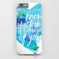 If I know what love is... iPhone 6 Slim Case