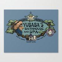 Yubaba's Bathhouse Canvas Print