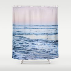 Pacific Ocean Waves Shower Curtain