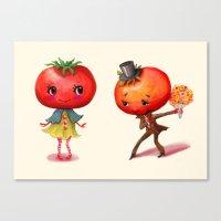 Tomato Tomato Canvas Print