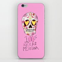100% azucar mexicana iPhone & iPod Skin