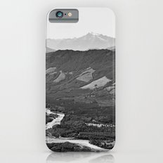 River in the Mountains B&W iPhone 6s Slim Case