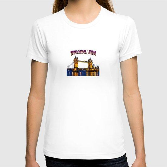 Tower Bridge , London, England, UK T-shirt