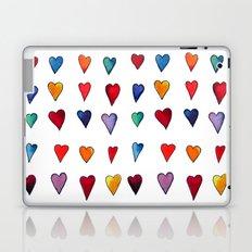 Multiple HEARTS Laptop & iPad Skin